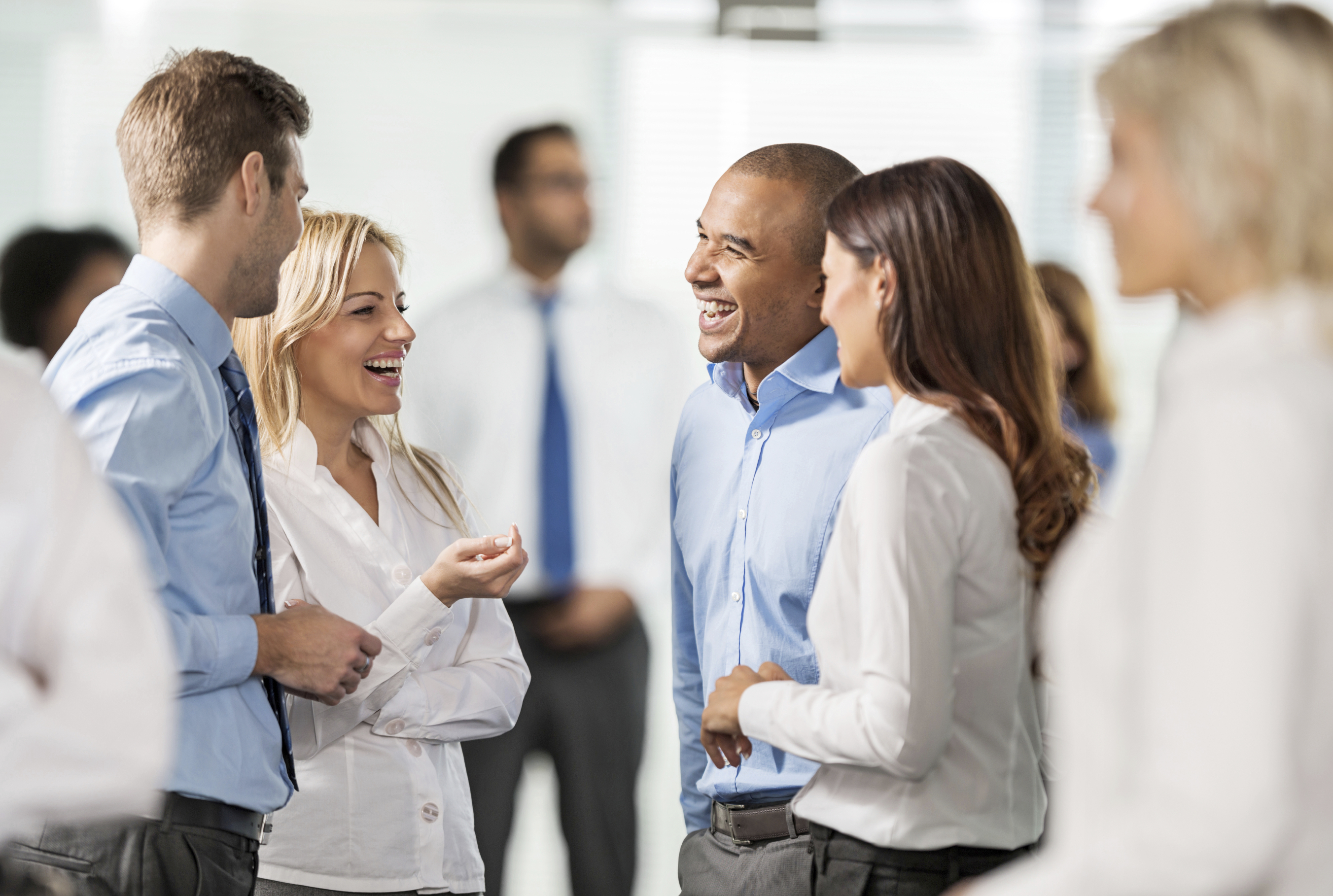 Cheerful group of business people standing together and communicating. [url=http://www.istockphoto.com/search/lightbox/9786622][img]http://dl.dropbox.com/u/40117171/business.jpg[/img][/url] [url=http://www.istockphoto.com/search/lightbox/9786738][img]http://dl.dropbox.com/u/40117171/group.jpg[/img][/url]